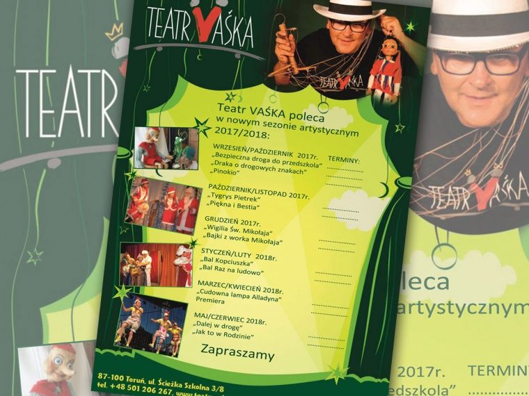 Teatr Vaśka - Repertuar sezon 2017/18