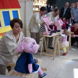 Teatr Vaśka - Trzy Świnki - galeria Auchan