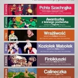 Teatr Vaśka - Plakaty z imprez