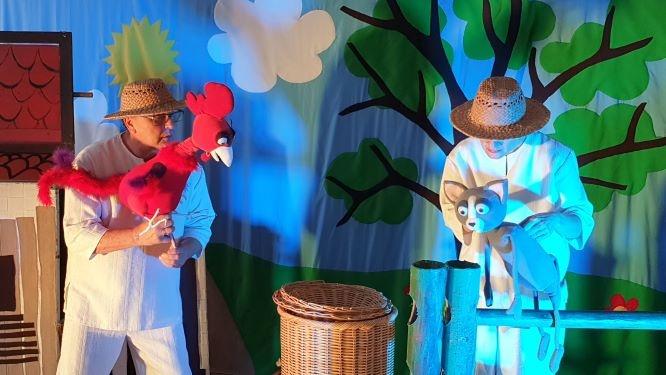 Teatr Vaśka - Wlazł kotek na płotek